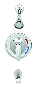 T&S Brass B-3200 Tub and Shower Pressure Balance Mixing Valve